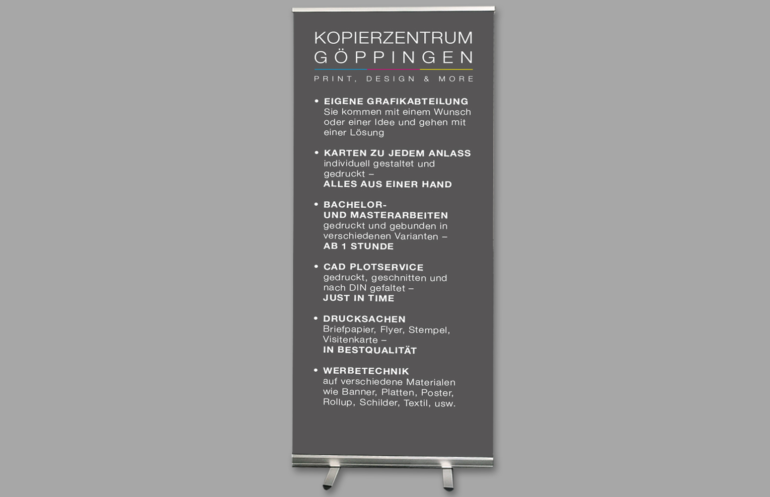 Posterdrucke Rollup Display Pvc Banner
